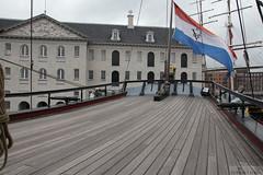 VOC-schip Amsterdam flag