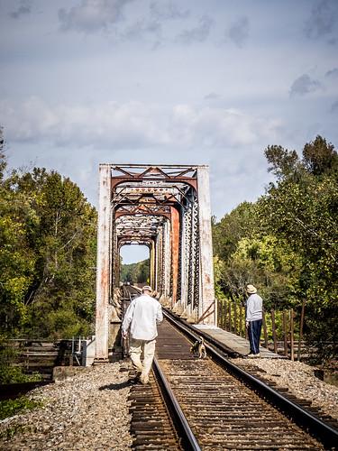 Savannah River from Stokes Bluff with LCU Nov 7, 2014, 4-18 PM Nov 8, 2014, 12-038