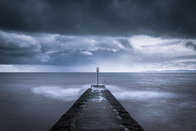 Sitting Out The Storm - Dawlish