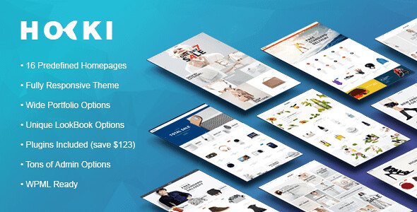 HOKI WordPress Theme free download