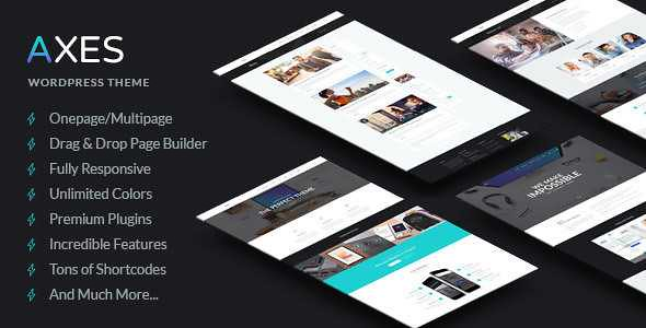 Axes WordPress Theme free download