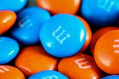Orange & Blue M&M's1
