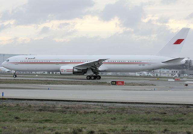 Bahrain Royal Flight. Boeing 767-4FS(ER).