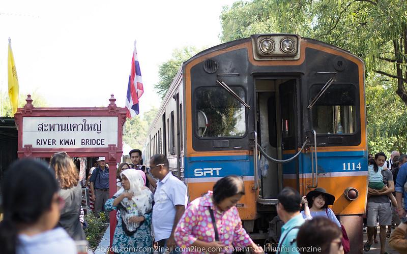 วันเดียวก็เที่ยวได้ ทางรถไฟสายมรณะ เลาะริมผาแม่น้ำแคว กาญจนบุรี6