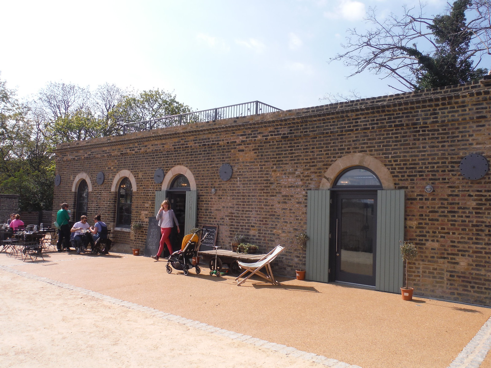 Lizzy's at the Coal House, Woodberry Wetlands SWC Short Walk 26 - Woodberry Wetlands (Stoke Newington Reservoirs)