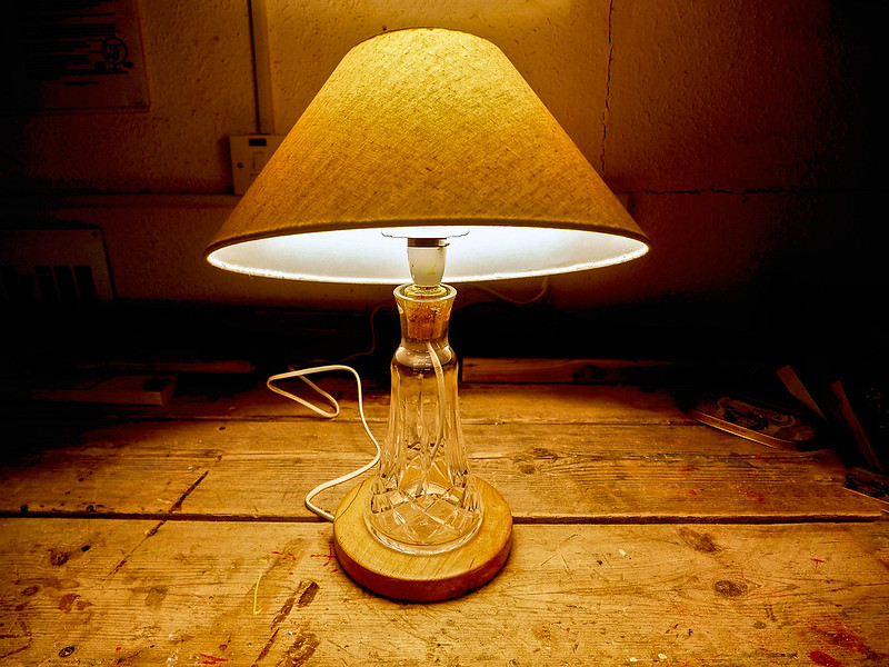 Boyle Mens Shed Table Lamp