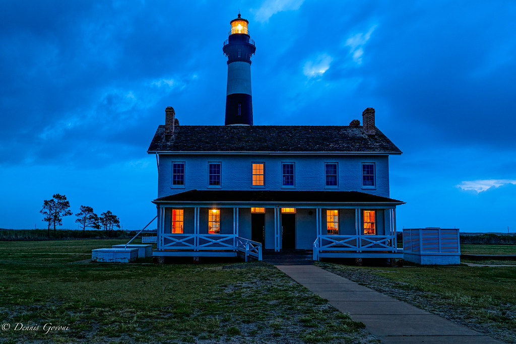 Bodie Island Lighthouse Map