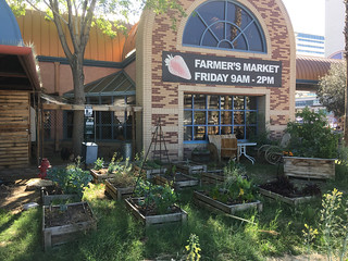 Raised Beds and Chickens, Farmers' Market