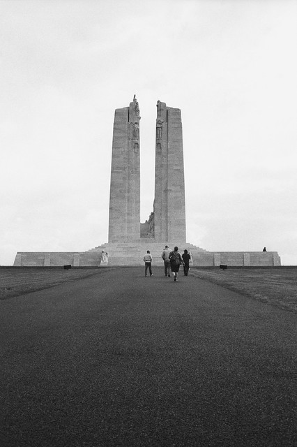 Canadian National Vimy Memorial (Reverse)