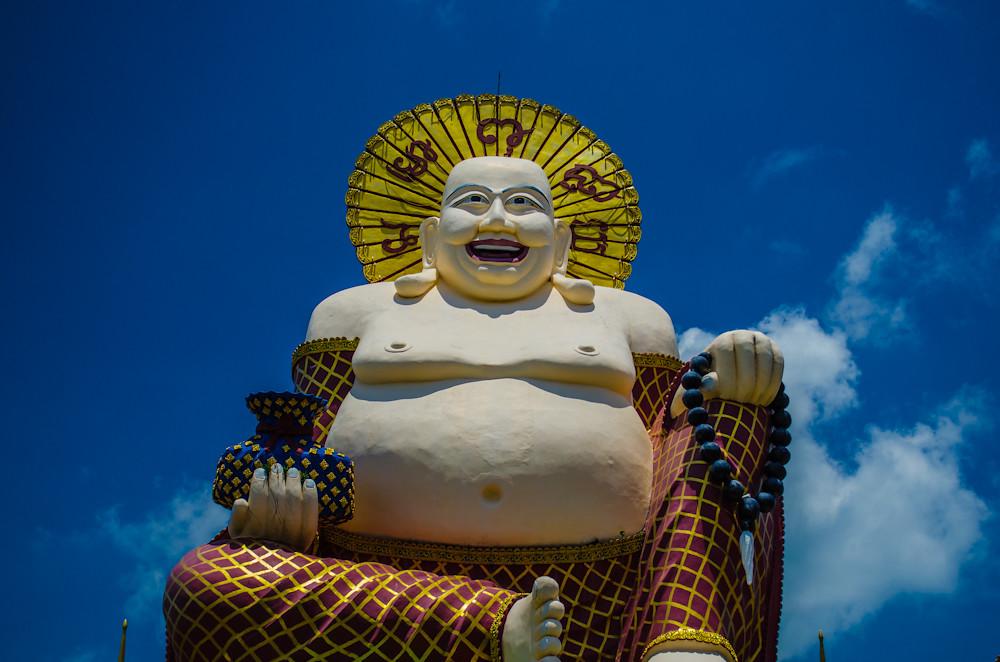 Budai at Wat Plai Laem