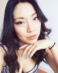Feeling super fresh today, hey. 💅💁👌😚 #hairstyle #manicure #blue #motd