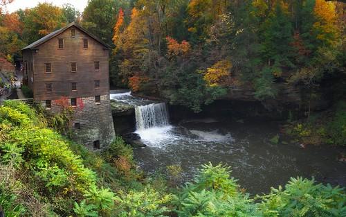 ohio waterfalls millcreekpark ohiowaterfalls canon7dmkii