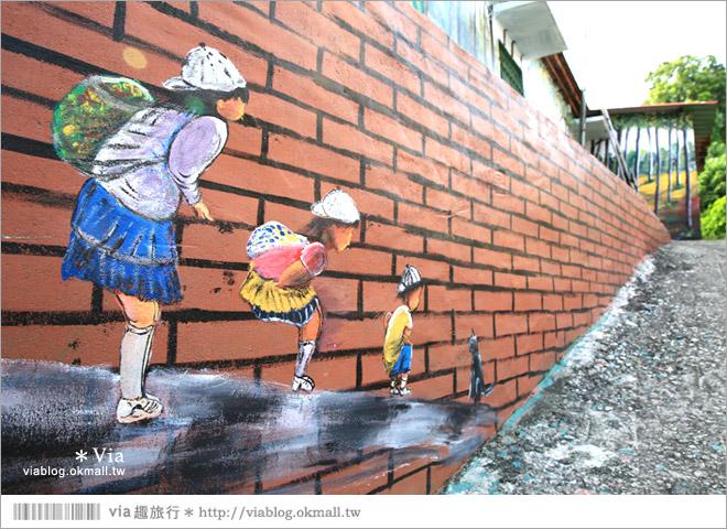 【關廟彩繪村】新光里彩繪村~在北寮老街裡散步‧遇見全台最藝術風味的彩繪村39
