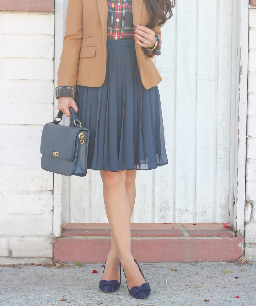 Plaid, Pearls and Pleats-8