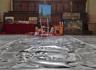 Imagen de Westerkerk cerca de Ámsterdam. church amsterdam floor paintings perspective culture christian gravestone westerkerk