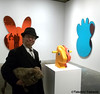 Seara (sea rabbit) and Dr. Takeshi Yamada visited the art exhibition of Jeff Koons at the Whitney Museum of American Art in Manhattan, NY on October 10, 2014. 20141010 172===C. Split-Rocker