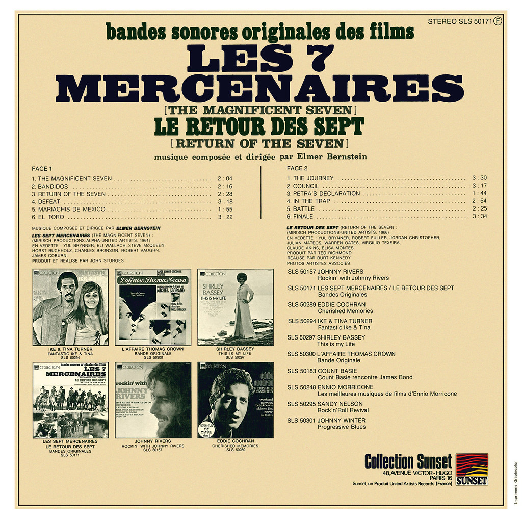 Elmer Bernstein - The Magnificent Seven b
