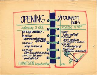 1981 Vrouwencentrum naar Vrouwenhuis