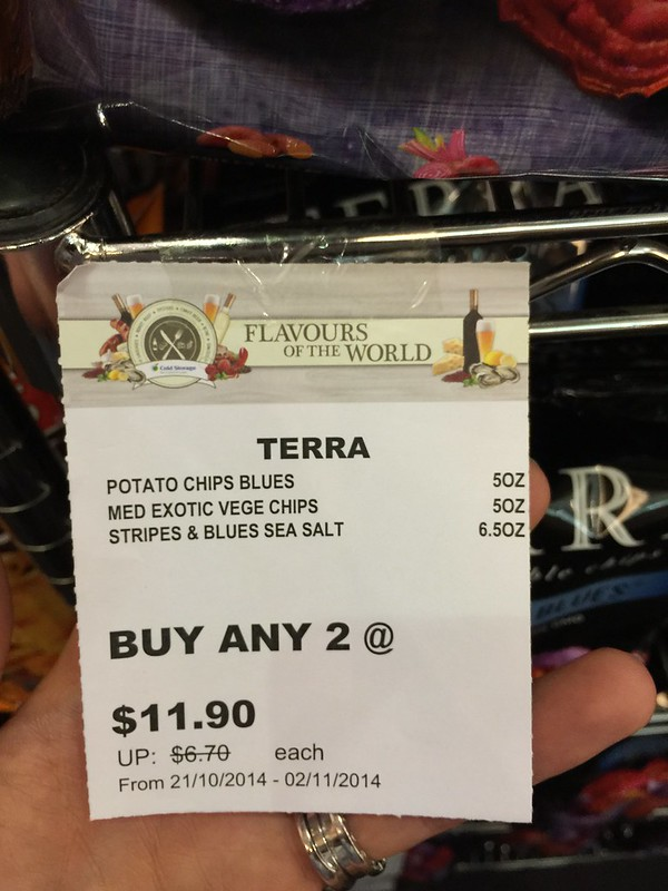 Terra's Chips - Buy Any 2 at S$11.90