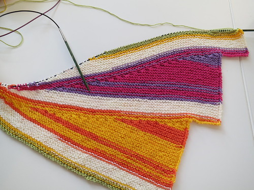 Wingspan Knitting Pattern : Knitting Like Crazy: WIP Wednesday: Wingspan