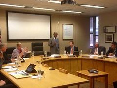 Secretary Davey Final Board Meeting, October 22, 2014