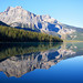 Reflection on Emerald lake - BC - Canada