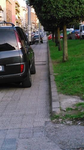 Veh�culos mal aparcados