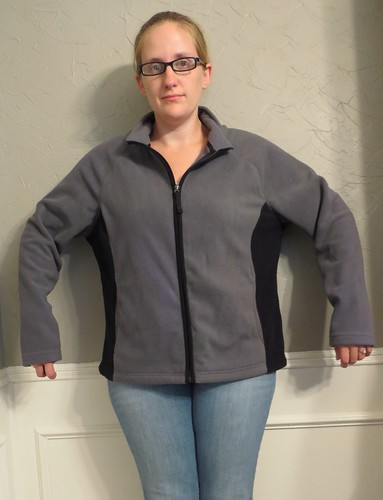 Fleece Jacket - Before