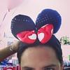 Vistida de #Minnie en una fiesta de cumpleaños :3
