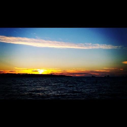 Sunset from English Bay, Vancouver BC  . #frenweh #wanderlust #travel #foodie #foodporn #vagabond #explorer #traveler #passport #grateful #entrepreneur #travel #networker #vancouver #Canada #bangkok #lumia1020 #Nokia #pureview #windowsphone #philinvancouv