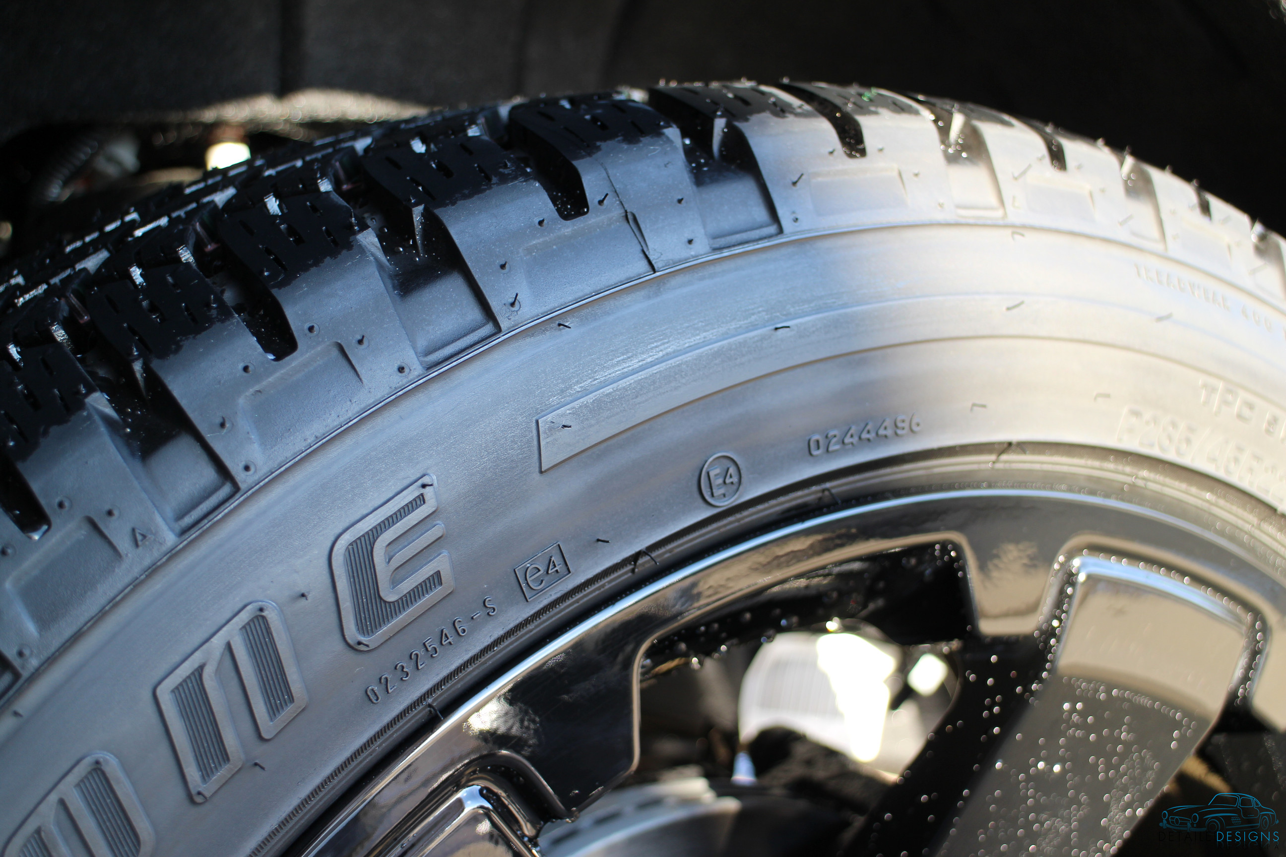 Clean tire
