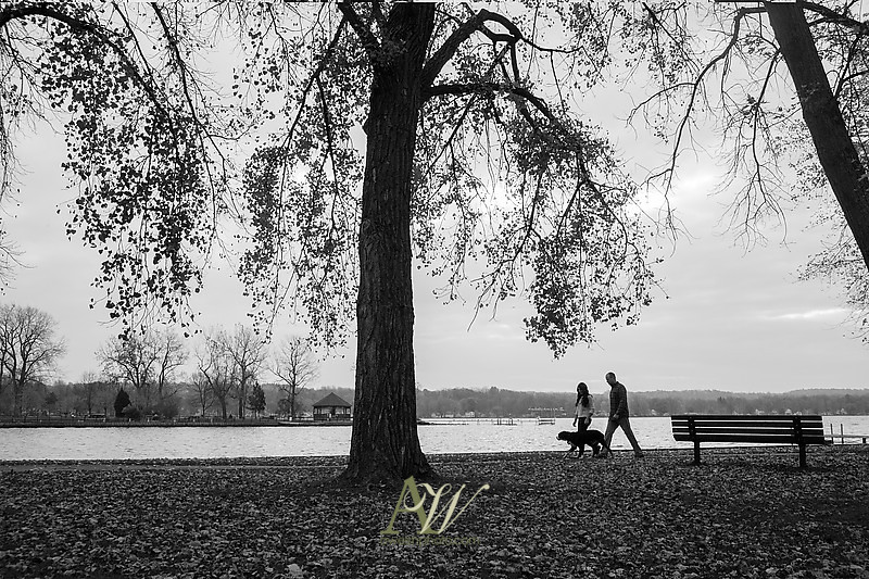 Engagement photographer Andrew Welsh Photography portrait kayak dog canine boat water Conesus Lake Lakeville Vitale Park couple wedding Rochester NY