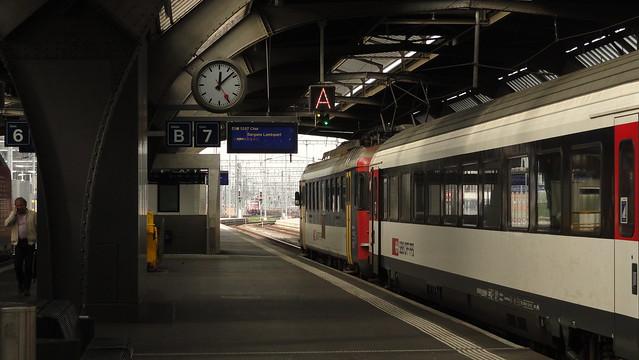 RBe 540 vor InterCity