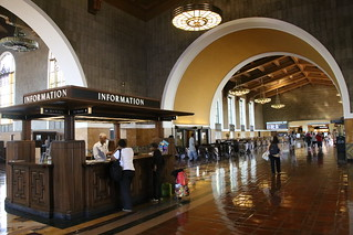 Union Station.  LA, California