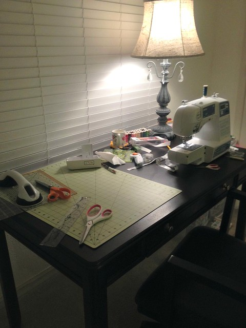 late night sewing