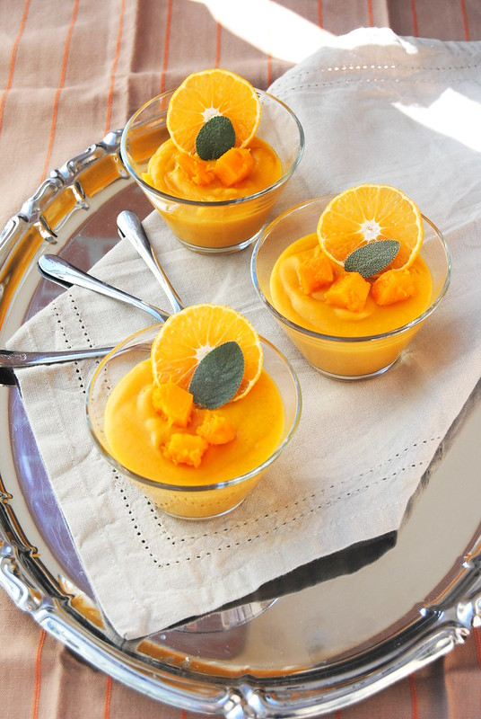 Pumpkin and Tangerine Pudding