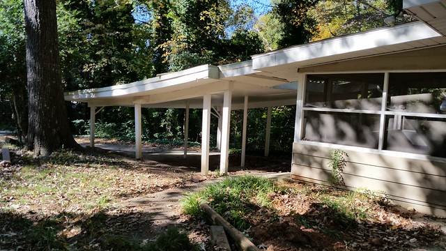 20141103_103044 2014-11-03 1785 North Druid Hills Rd Teardown Modern splitlevel split level screen porch and carport