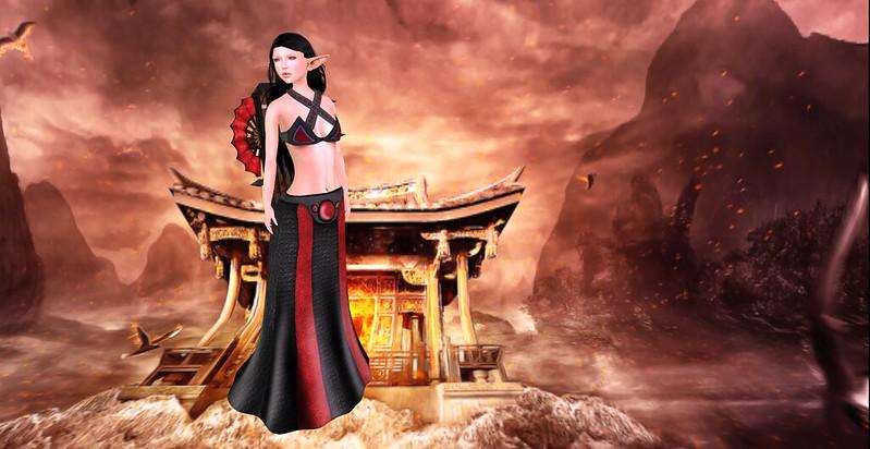 Asian Warrior Elf
