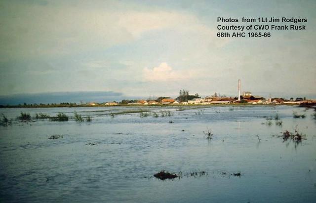 LONG AN - Nhà máy đường Hiệp Hòa. Photo by CWO Frank Rusk 1965-66