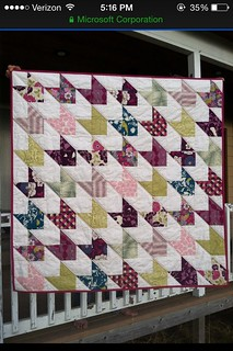 Chevron and On quilt in Joel Dewberry's Bungalow