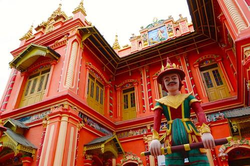 Colourful Thanboddhay Pagoda Monywa