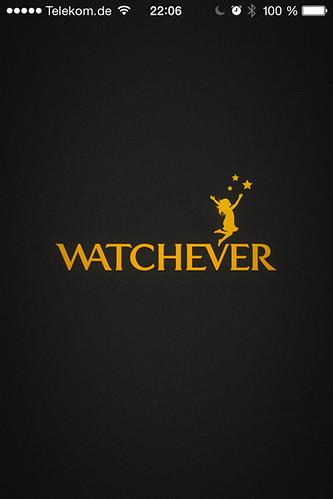 25 - Google Chromecast - Watchever starten