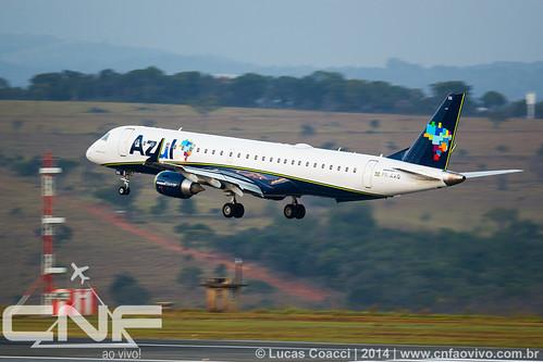 Embraer 195 Azul Linhas Aéreas PR-AXQ