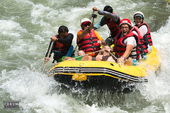tubing(0.0), sports(1.0), rapid(1.0), recreation(1.0), outdoor recreation(1.0), boating(1.0), extreme sport(1.0), water sport(1.0), raft(1.0), rafting(1.0),