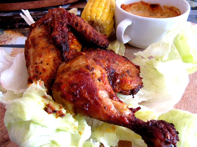 Noodle House peri-peri chicken