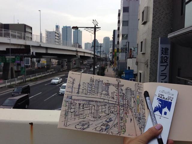 Higashikanagawa city view