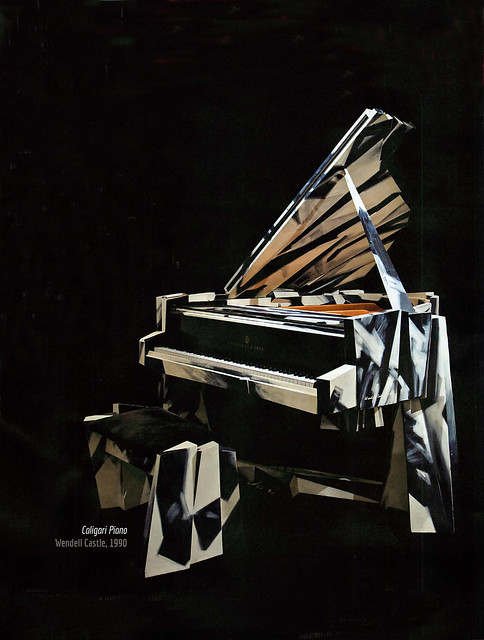 Wendell Castle, Caligari Piano, 1990-1