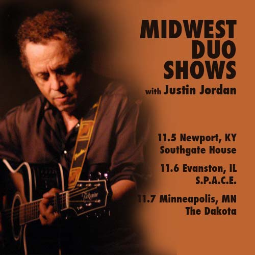 11/07/14 Garland Jeffreys with Justin Jordan @ The Dakota Jazz Club, Minneapolis, MN