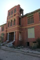 Toyah High School Building 1, Toyah, Texas