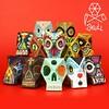 I Need your Skull series by Proyecto Ensamble 2014. #ineedyourskull #skull #misfits #punk #skullart #sugarskull #paperskull #papertoys #papercraft #arttoys #designertoys #urbantoys #toydesign